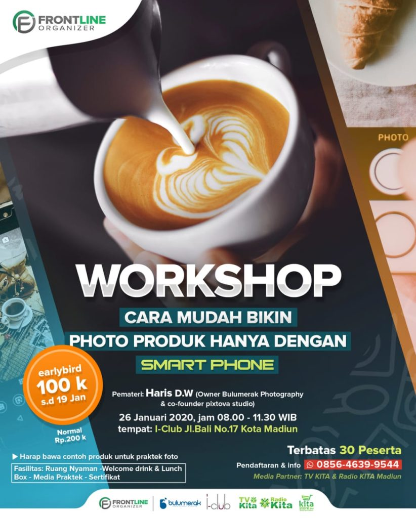 Workshop Foto Produk